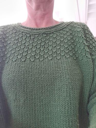 Makerist - Pull Juliette de @mon_blabla_de_fille  - Créations de tricot - 2