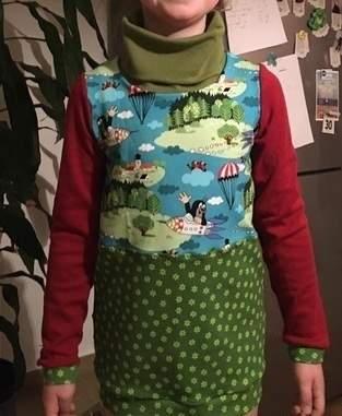 Makerist - Rollkragenshirt Gr. 140 für meine Enkelin - 1