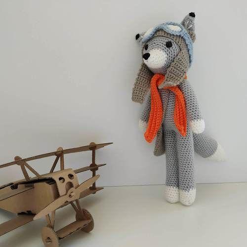 Makerist - Nathanaël Fox l'explorateur et son ami Raymond l'oison - Créations de crochet - 2
