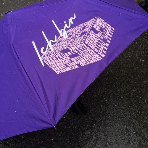 """Makerist - Regenschirm mit Datei """"Ich bin"""" von B.Style - Textilgestaltung - 2"""