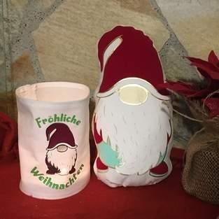 Makerist - Lichtersack und Kuschel-Weihnachtswichtel - 1