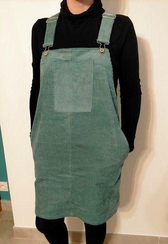 Makerist - Robe salopette velours côtelé - Créations de couture - 1