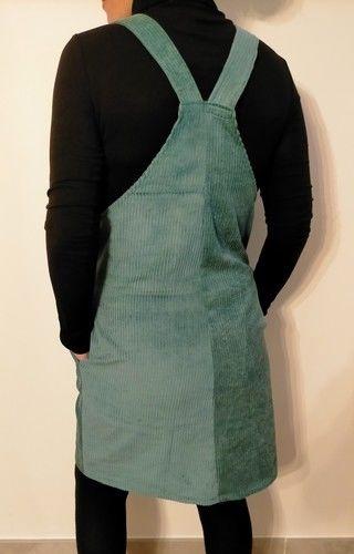 Makerist - Robe salopette velours côtelé - Créations de couture - 2