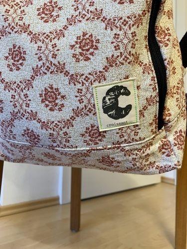 Makerist - Rucksack aus altem Vorhang  - Nähprojekte - 3