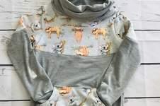 Makerist - Hoodie mit Kragen  - 1