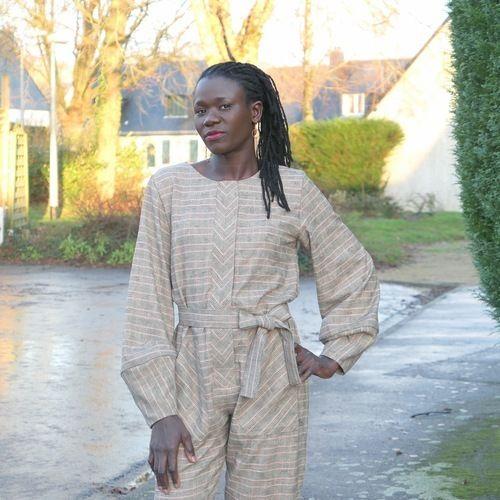 Makerist - Combi Les garçonnes en lainage léger par @3petitslutins - Créations de couture - 2