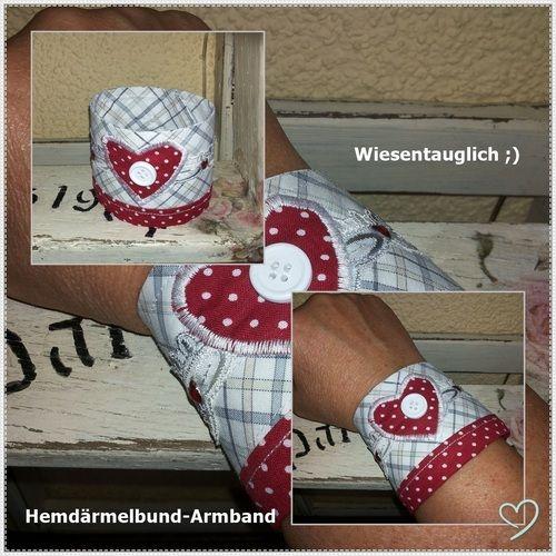 Makerist - Manschetten-Armband Wiesentauglich - Nähprojekte - 1