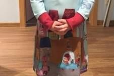 Makerist - Kleid aus langem und schmalem Panelstoff - 1