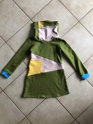 Makerist - Kinder-Sweatkleid mit Patchwork-Dreieck  - 1