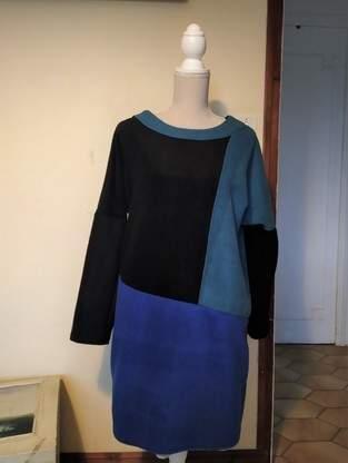 Makerist - Robe tissu polaire - 1