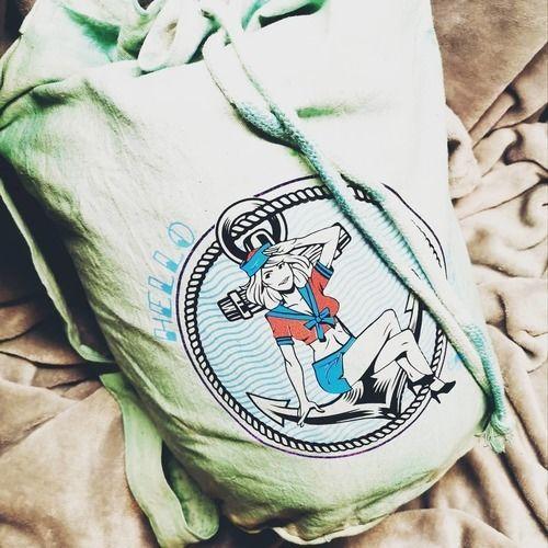 Makerist - Seesack passend gestaltet - Textilgestaltung - 1