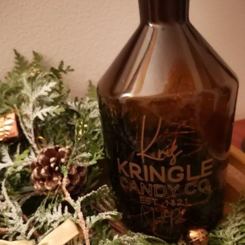 Makerist - Mit B. Style Plottdatei eine alte Flasche zur Weihnachtsdeko verschönert - DIY-Projekte - 2