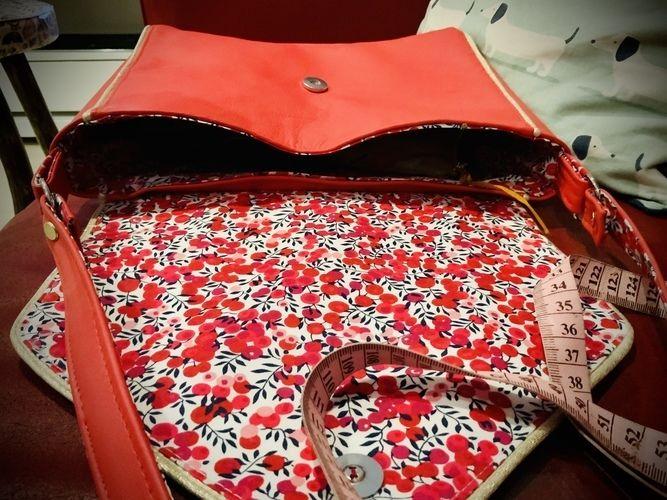 Makerist - Besace Janis patronne de @janeemilie - Créations de couture - 2