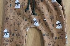 Makerist - Baggy Pants Baby Größe 74 mit Taschen und Fake Kordel - 1