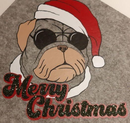 Makerist - Merry Christmas Dog - Textilgestaltung - 1