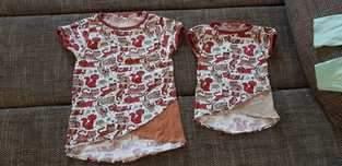 TUNIKA ENIE 74 - 164 , eine schöne Tunika für Mädchen
