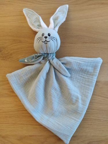 Makerist - Mon premier Gabin doudou lapin - Créations de couture - 1