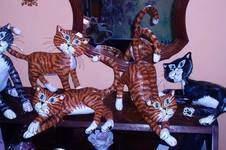 Makerist - Pappmache -Katzen - 1