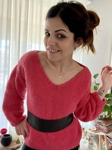 Makerist - Mon pull Victoire  - Créations de tricot - 2