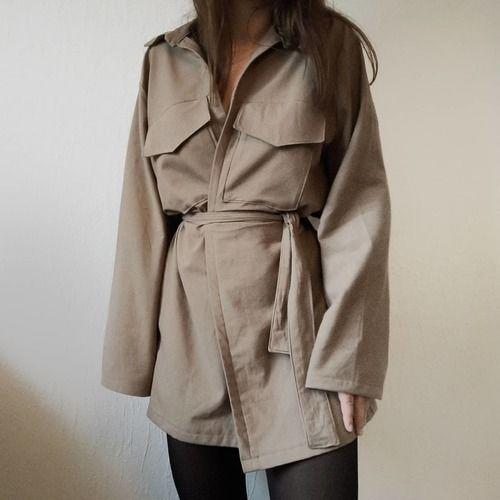 Makerist - Baroudeuse en coton  - Créations de couture - 1