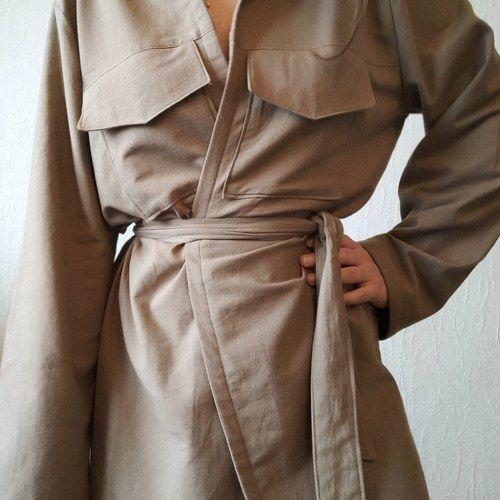 Makerist - Baroudeuse en coton  - Créations de couture - 2