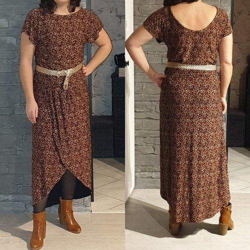 Makerist - Robe osiris en jersey fleuri pour moi  - Créations de couture - 1