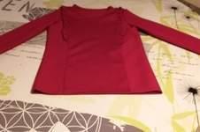 Makerist - Tee shirt Sarah.tencel rouge.pour ma petite fille en 12ans - 1