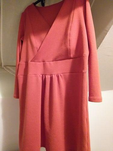 Makerist - Robe sanette.en sweat shirt rouille pour l automne  - Créations de couture - 1