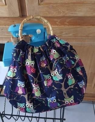 "Makerist - Sac boule ""Miss Marple's bag"" - 1"