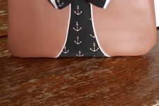 Makerist - Pochette ninie en simili cuir. - 1