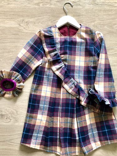 Makerist - Ma robe Ophelie en flanelle  - Créations de couture - 1