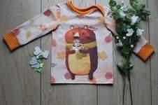 Makerist - Schmales Shirt mit großem Bär - 1
