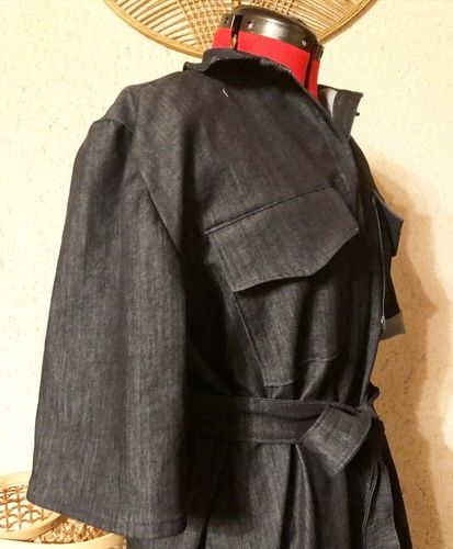 Makerist - La baroudeuse en jean - Créations de couture - 1