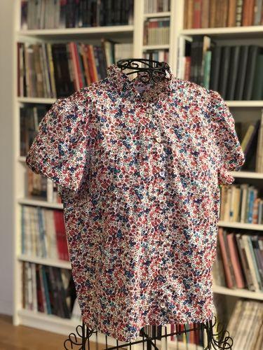 Makerist - Chemisier papillote en liberty - Créations de couture - 1