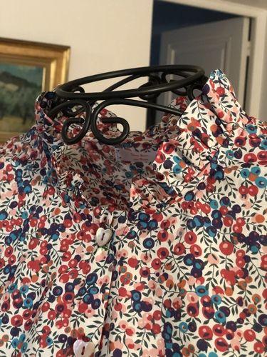 Makerist - Chemisier papillote en liberty - Créations de couture - 2