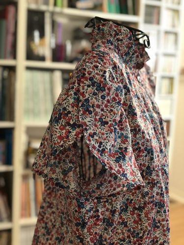 Makerist - Chemisier papillote en liberty - Créations de couture - 3