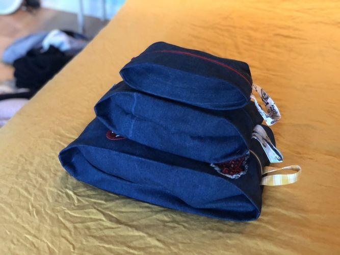 Makerist - 3 pochettes Fred pour mon frérot  - Créations de couture - 1