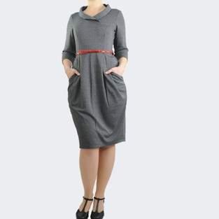 Makerist - Schnittmuster Damenkleid Laureen - Gr. 38 - Jersey - TOSCAminni-Schnittmanufaktur - 1