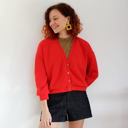 Makerist - Cardigan Jamie - Ready to Sew - Créations de couture - 1