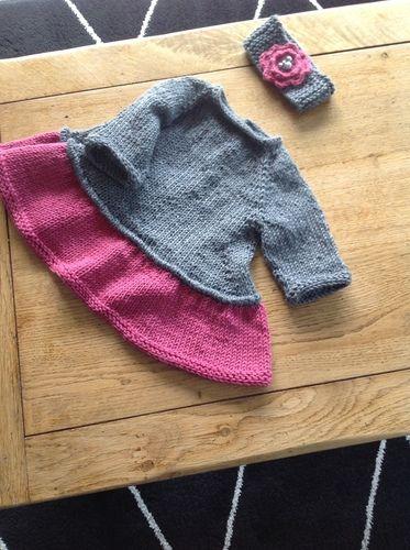 Makerist - Tutu top pour fillette de 6 mois - Créations de tricot - 1