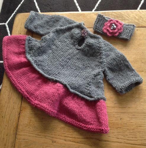 Makerist - Tutu top pour fillette de 6 mois - Créations de tricot - 2