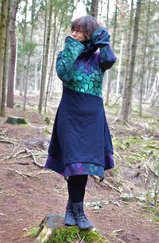 Mein Regenbogenkleid :)