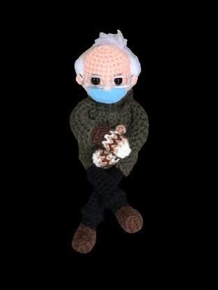 Makerist - Bernie sanders doll pdf pattern - 1