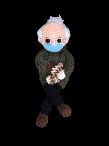 Makerist - Bernie sanders doll pdf pattern - #makeristathome - 2