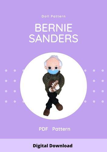 Makerist - Bernie sanders doll pdf pattern - #makeristathome - 3
