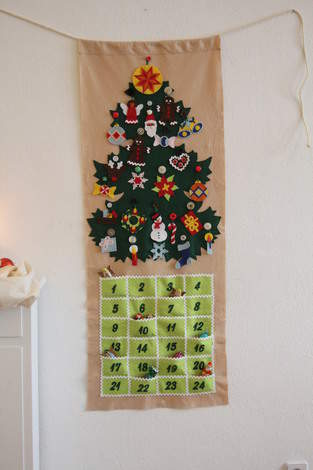 Makerist - XMAS - Adventskalender aus Filz! - 1