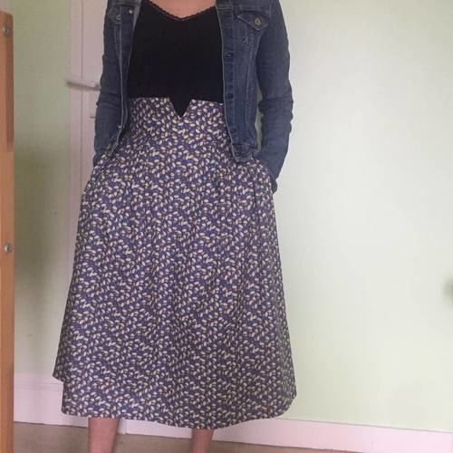 Makerist - ma jupe l'élégante en coton - Créations de couture - 1