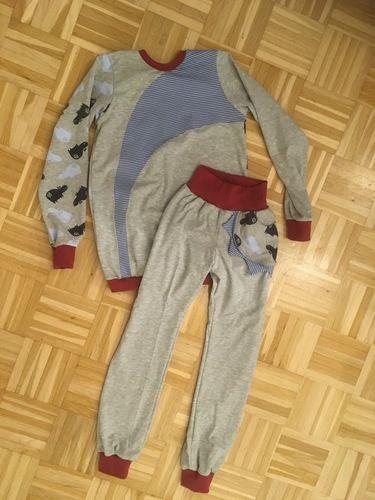 Makerist - Schlafanzug mit glow in the dark Jersey  - Nähprojekte - 1