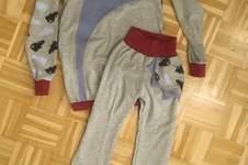 Makerist - Schlafanzug mit glow in the dark Jersey  - 1