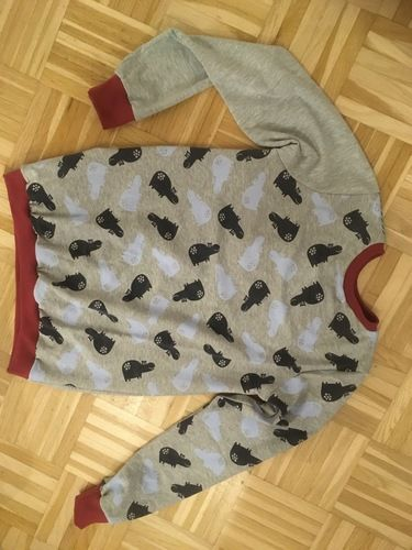 Makerist - Schlafanzug mit glow in the dark Jersey  - Nähprojekte - 2